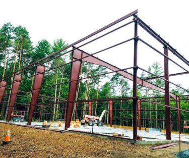 Steel Framework Construction